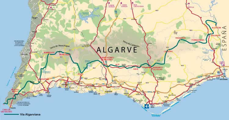 Walks In Portugal Via Algarviana