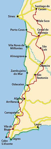 Rota Vicentina Trail Overview